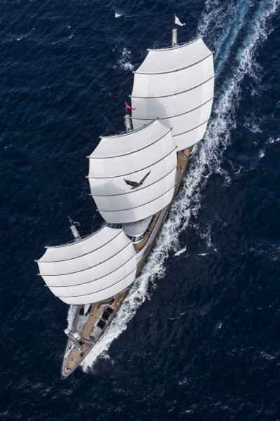 THE MALTESE FALCON Length: 88 m Type: clipper